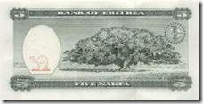 Eritrea bill with Jacaranda