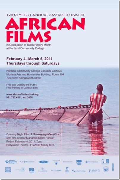 21st Cascade Festival of African Films