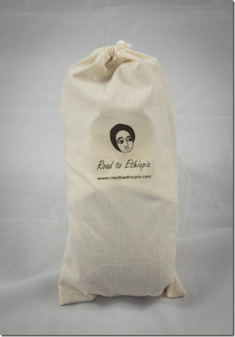 Ethiopian Angel Doll in her bag