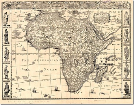 19th Century Africa Map.Mapping Africa Road To Ethiopia Camino A Etiopia My Journey To