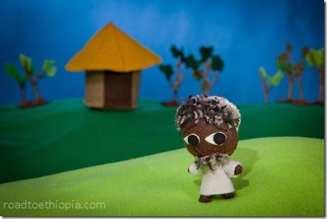 Ethiopian Doll - Old Man
