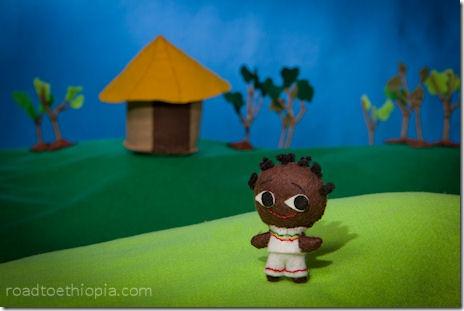 Ethiopian Doll - Young Boy