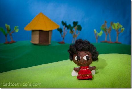 Ethiopian Doll - Angel