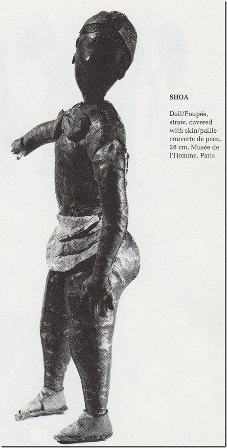 Ethiopian Doll - Shewa region - Musee de L'homme, France