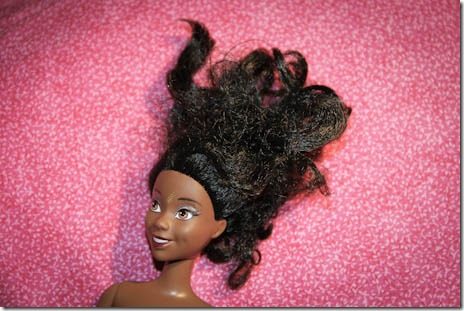 how to fix barbie hair without fabric softener