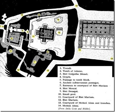 Lalibela, 1st group of churches