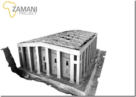 Zamani Project - Bet Medhane Alem 3D Model