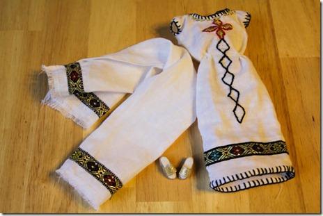 Ethiopian Barbie V1.2 dress