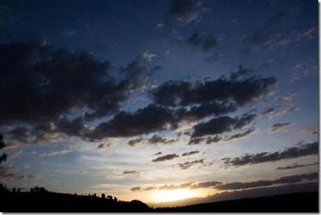 Sunset at Wajela