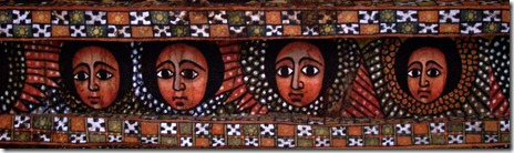 Ethiopian angels in Gondar