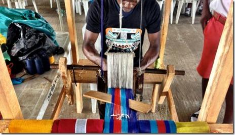 Maker Faire manual loom