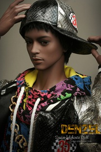 Denzel doll by Iple House