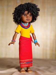 Rahel Doll from Ethiopia