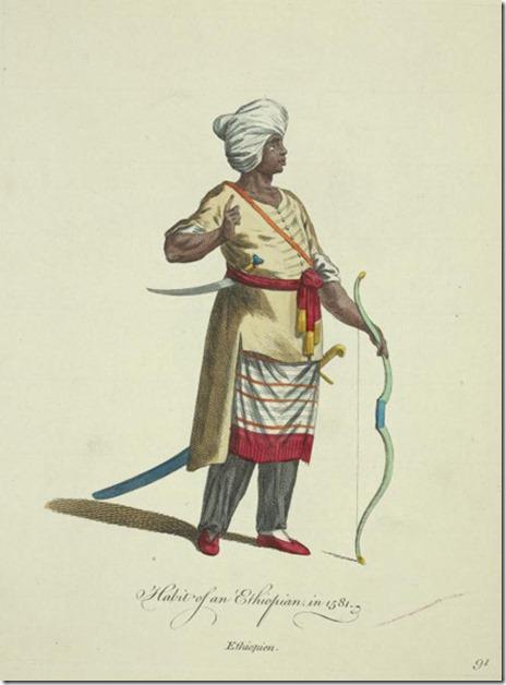 Ethiopian in 1581