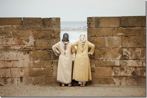 Essaouira - The sea watchers by Amine Fassi