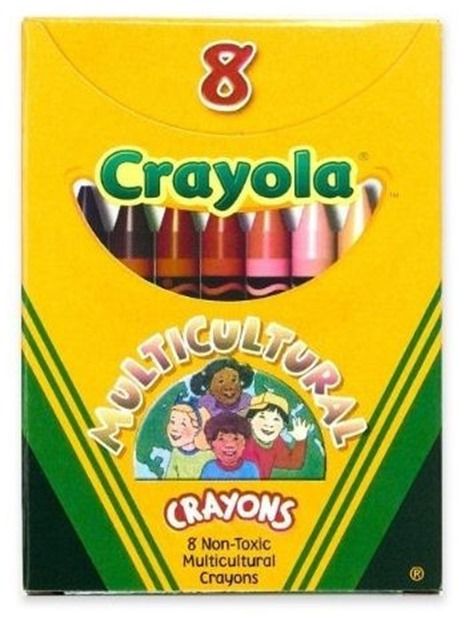 Multiculturalism according to Crayola