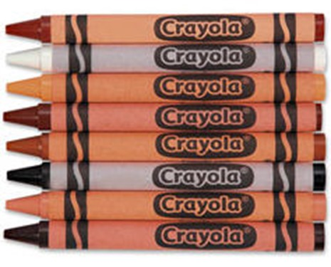 Multiculturalism according to Crayola
