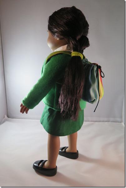 Ethiopian school uniform for girl